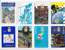 8 TELECARTE / PHONE CARD .. FRANCE 50U PACK VELO TOUR DE FRANCE MIX PUCE C.18€