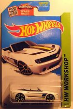 Hot Wheels 2012 Camaro Convertible Convertible HW Workshop 1:64 Diecast