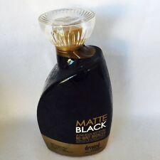 2017 Devoted Creations Matte Black Sleek Bronzer Tanning Bed Lotion