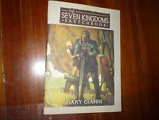 The Seven Kingdoms Sketchbook Gary Gianni George R.R. Martin Signed, Remarqued