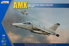 Kinetic 1/48 AMX Ground Attack Aircraft Brazil Italy Plastic Model Kit K48026