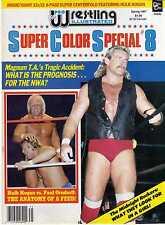 PRO WRESTLING ILLUSTRATED SUPER COLOR SPECIAL #8 SPRING 1987 HULK HOGAN WWE WWF