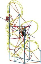 K'NEX Thrill Rides Clock Work Roller Coaster Building Ages 7+ New Toy Boys Girls