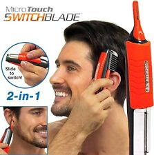 Micro Touch MAX Personal Hair Trimmer Groomer Nose Ear Eyebrows Sideburn Remover