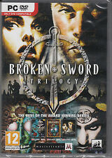 Broken Sword Trilogy PC Brand New Sealed Fast Shipping