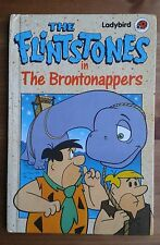 Vintage Gloss Ladybird Book The Flinstones 'The Brontonappers' 1st EDITION 1989