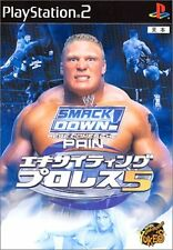 Used PS2 WWE Exciting Pro Wrestling 5 Japan Import (Free Shipping)