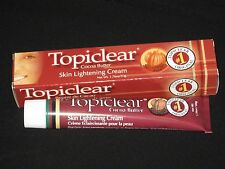 Topiclear Skin Lightening,Brightening,Bleaching&Whitening Cream/Sunscreen 1.76oz