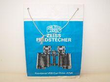 Vecchio DDR pubblicità ossia Shopping-bag Carl Zeiss Jena Connettore da pannello