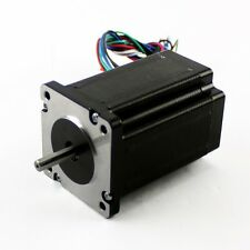 "NEMA23 425oz/in 2.8A Stepper Motor ¼"" Dual shaft (KL23H286-20-8B)"