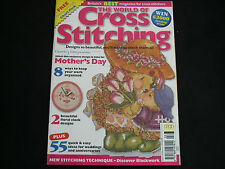 Issue 16  The World of Cross Stitching Craft Magazine MOTHER'S DAY Weddings