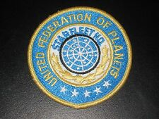 STAR TREK: THE ORGINAL SERIES STARFLEET HQ UNITED FEDERATION OF PLANETS PATCH