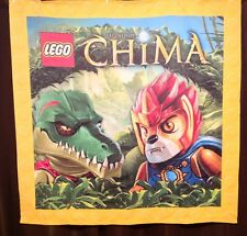 LEGO STORE HUGE LEGENDS OF CHIMA 6' x 6 FT LARGE DISPLAY FABRIC FLAG WALL BANNER