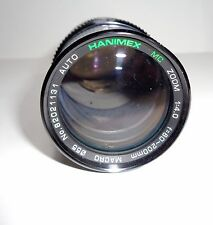 Hanimax Zoom Lens F80 - 200 1:4.0 with Leather Case Made in Japan Metal Body