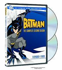 BATMAN : COMPLETE SEASON 2 (DC Animated) - DVD - UK Compatible -  sealed