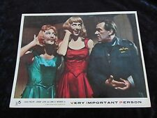 VERY IMPORTANT PERSON lobby card #8 JOHN LE MESURIER, LESLIE PHILLIPS
