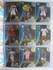 27 Fan Favourites Complete set PANINI Adrenalyn Card FIFA World Cup Brazil 2014