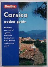 BERLITZ.CORSICA POCKET GUIDE.S/B 2001,COLOUR PHOTOS,MAPS,NEW