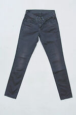 PEPE JEANS London LADIES FADED ASH GREY DENIM JEANS SLIM STRETCH W26 L29 UK8