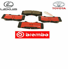 LEXUS & TOYOTA FACTORY SPEC FRONT BREMBO BRAKE PAD KIT WITH SHIMS 04465-35290