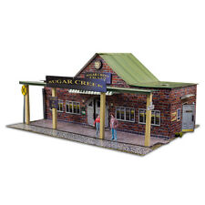 "BK 4817 1:48 Scale  ""Train Station"" Photo Real Scale Building Kit Tracks"