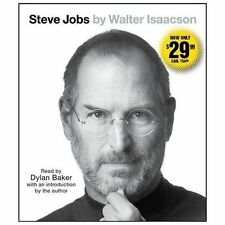 Steve Jobs by Walter Isaacson (2013, CD, Unabridged)