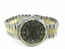 LONGINES CONQUEST QUARTZ HERREN UHR STAHL/GOLD GENTS WATCH OROLOGIO MONTRE
