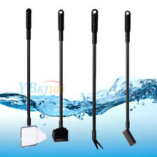 New 4 in 1 Fish Tank Aquarium Brush Gravel Rake Net Fork Sponge Cleaning Tools