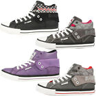 BRITISH KNIGHTS ROCO WOMEN SCHUHE HIGH TOP SNEAKER B32-3733 DEE DOUGLAS ATOLL