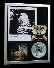 GOLDFRAPP+SIGNED+FRAMED+FELT MOUNTAIN+UTOPIA=100% AUTHENTIC+EXPRESS GLOBAL SHIP