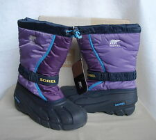SOREL FLURRY TP Winter Pac Boots  US Youth 6  NIB  Purple