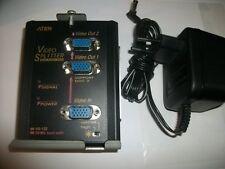 ATEN Video Splitter 2-Port VS-132 Monitor/Fernseher-Zubehör mit Netzteil