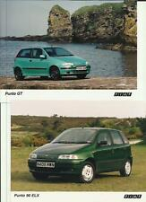 "FIAT PUNTO SPORTING,90 ELX, GT AND MORE PRESS PHOTO ""Brochure related"" 4 OF"