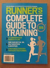 Runner's World Complete Guide To Training Workout Plans 5K 2015 FREE SHIPPING!