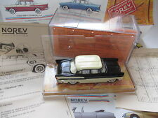 Simca Chambord (1961) in schwarz noir bero black / creme, NOREV in 1:43 boxed!
