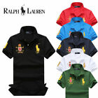 2016 hot brand new T-shirt/cotton casual men's polo shirt embroidered big yards澳