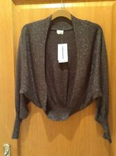 Metallic Knit Shrug from Oasis - size 12 - BRAND NEW