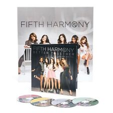 Fifth Harmony Better Together 4 CD Box Set Folded Poster RARE New Work From Home