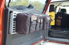 MPAC Springtail FJ Cruiser FJcruiser Rear Door Folding MOLLE panel COMBO Gear
