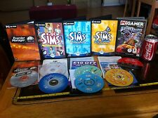 Sims Unleashed On Holiday Roller Coaster Tycoon Premier Manager PC Bundle Games