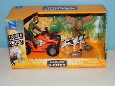 New-Ray Wildlife Hunter Figure & Wild Animals - Dog, Duck,