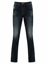Authentic Fendi Bug Mens Denim Jeans - Size 35'' Waist - Regular Leg