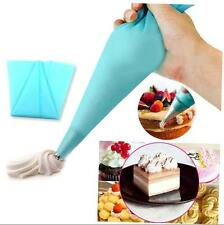 Reusable Silicone Icing Piping Cream Pastry Bag DIY Cake Decorating Tool