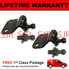 UNIVERSAL BONNET BOOT HATCHBACK GAS STRUT BRACKETS PAIR IDEAL FOR KIT CAR