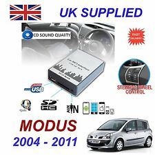 Renault MODUS MP3 SD USB CD AUX Input Audio Adapter Digital CD Changer Module