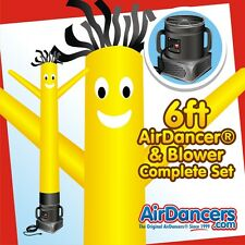 Yellow Air Dancer® & Sky Dancer Blower 6ft