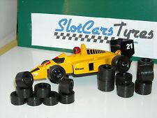 8 Vorderreifen frei + 16 Hinterreifen  Carrera Profi De