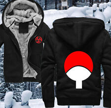 Anime Naruto Sasuke Uchiha Clothing Thicken Jacket Hooded Sweatshirt Hoodie