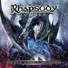 Into The Legend - Rhapsody Of Fire (2016, CD NIEUW) 884860146722