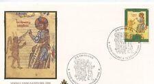 ENVELOPPE VISITE DU PAPE JEAN PAUL II / POSTE VATICANE 1996